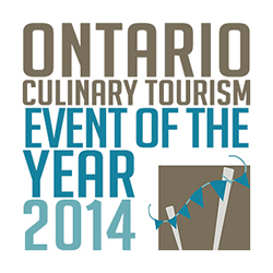 CK Table Awarded the Ontario Culinary Tourism Event of the Year 2014