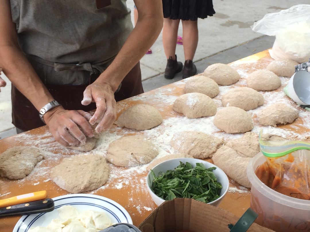 Can Pizza made with Whole Grain Flour Save our Food System